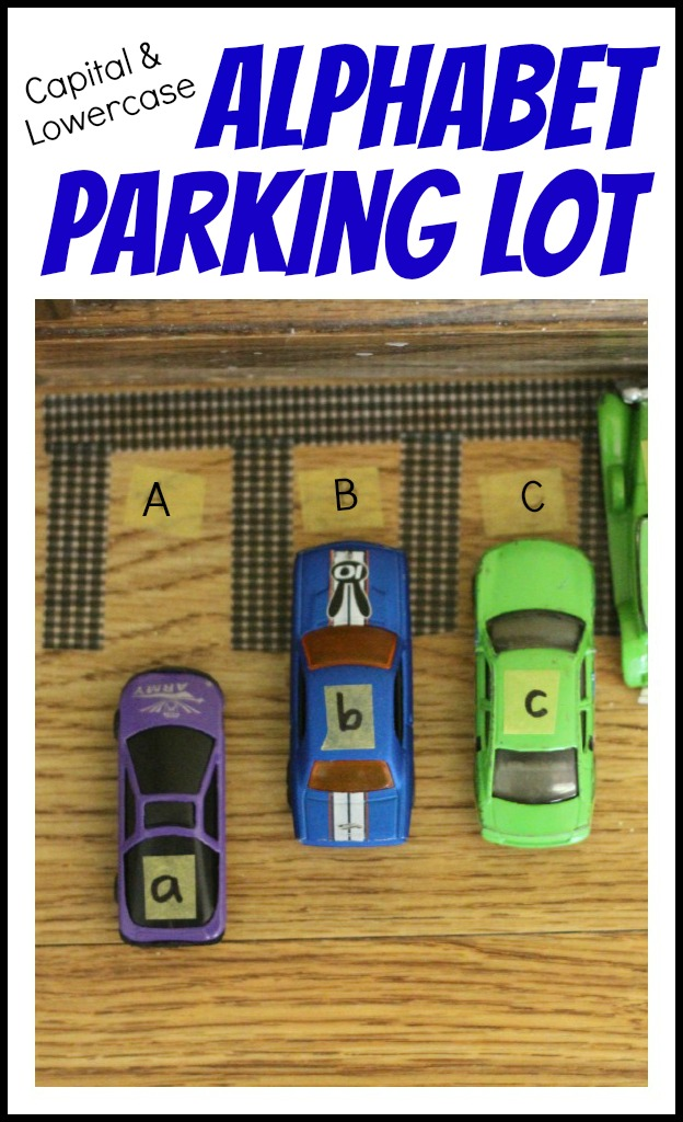 Capital-Lowercase-Alphabet-Parking-Lot